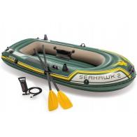 Intex Seahawk 2 Set - Aufblasbares Boot für 2 Personen