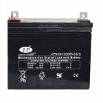 Einzelne 12 Volt Batterie 38 Amp.